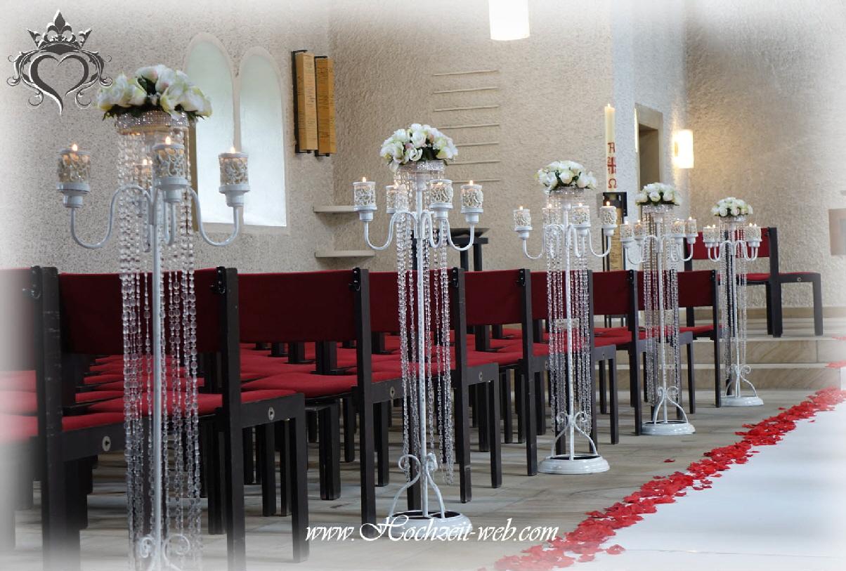Kirchendekoration for Dekoration hochzeit kirche