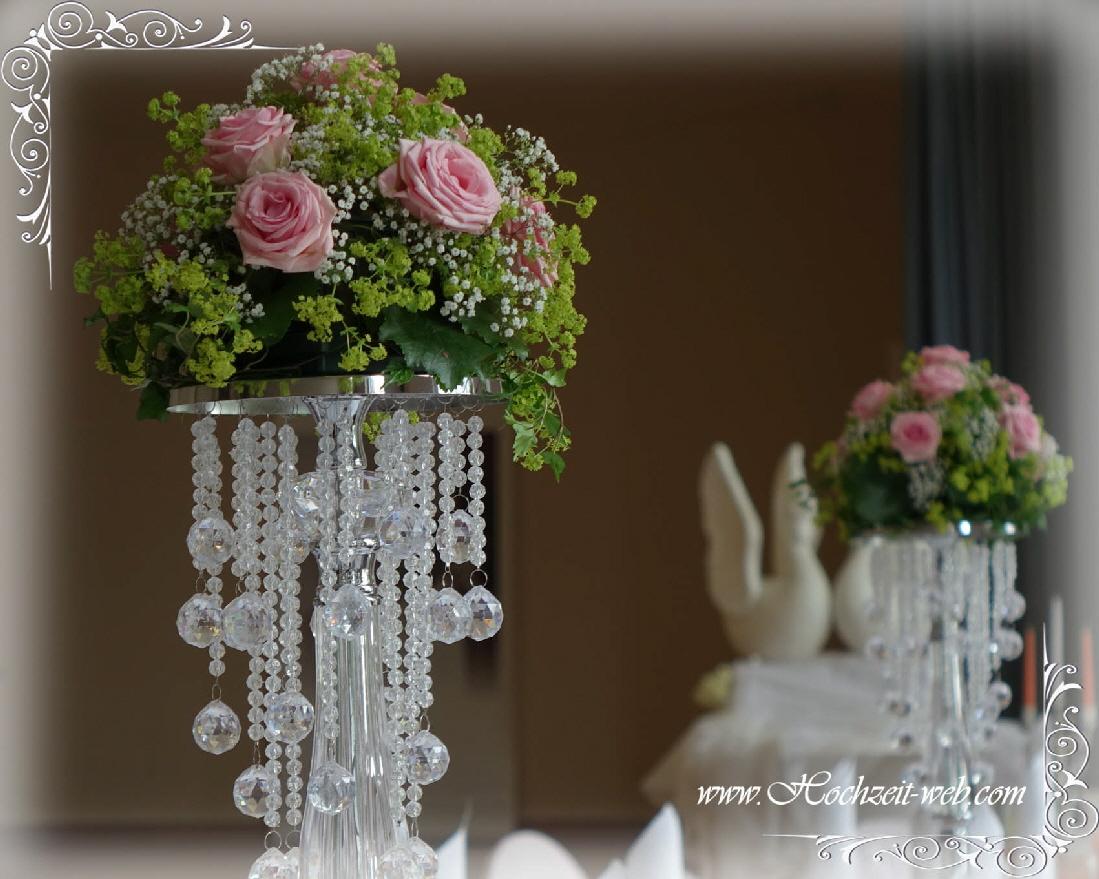 Hochzeitsdekoration vintage stil voll im trend - Deko in altrosa ...