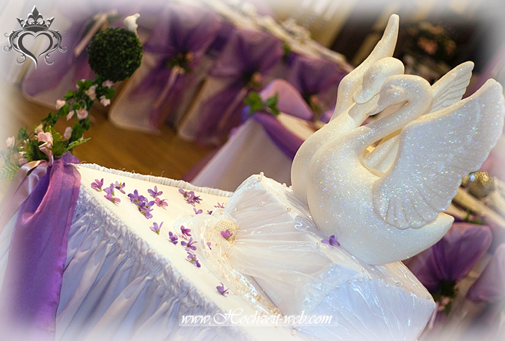 Hochzeitsdekoration Deko Hochzeit Rosa Geschenkebox