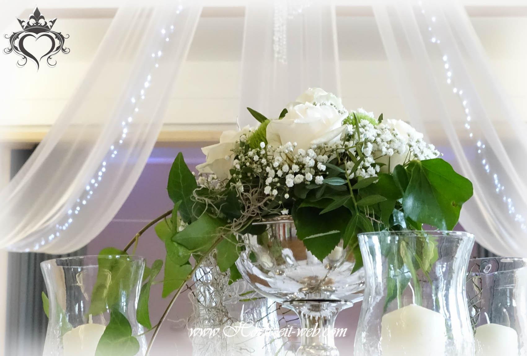 Tischdeko Mit Kerzenleuchter Kerzenst Nder