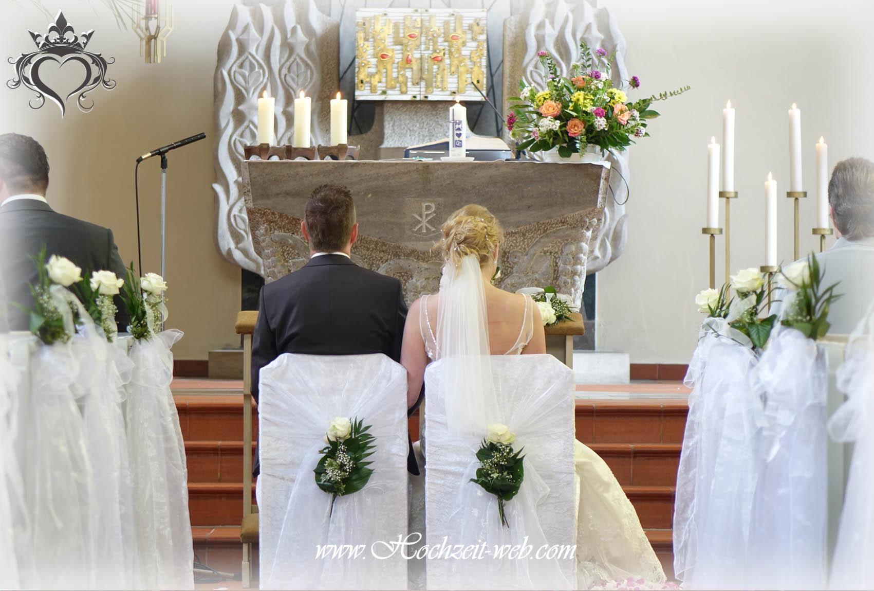Deko Kirche Hochzeit Stuhle Modeschmuck