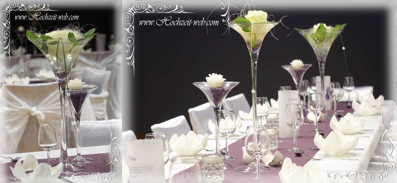 Elegante Und Extravagante Vasen Fur Tischdekoration Hochzeitsdeko