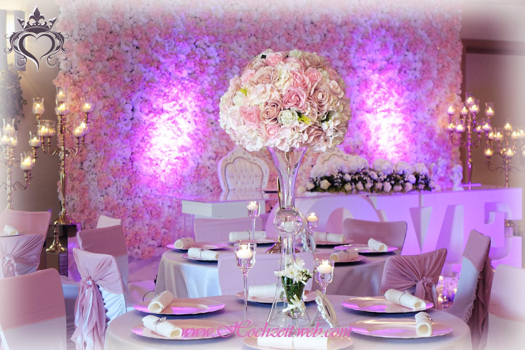 elegante und extravagante vasen f r tischdekoration hochzeitsdeko. Black Bedroom Furniture Sets. Home Design Ideas