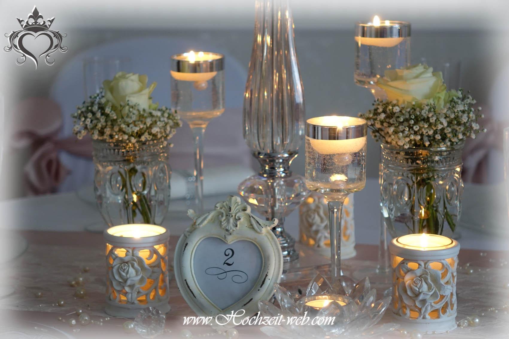 Elegante und extravagante vasen f r tischdekoration for Dekoartikel altrosa
