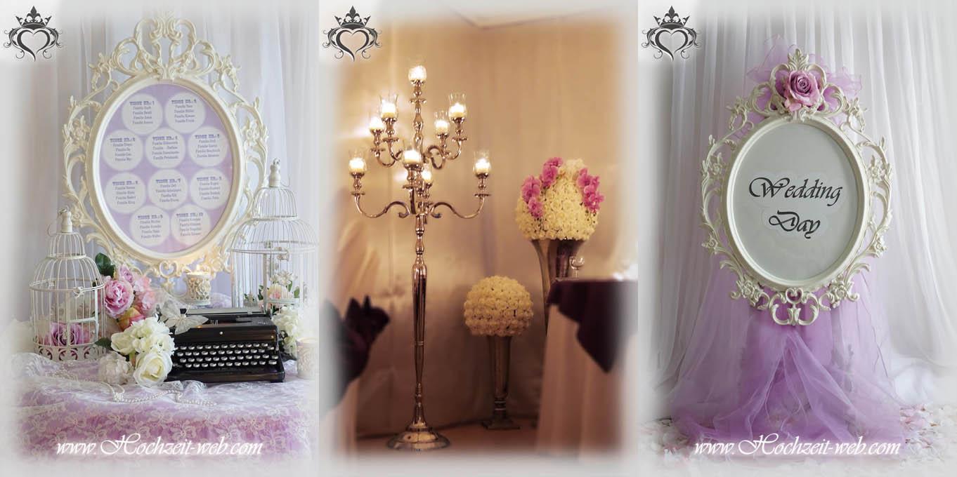 Eingangsbereich geschmackvoll dekorieren - Romantische dekoartikel ...