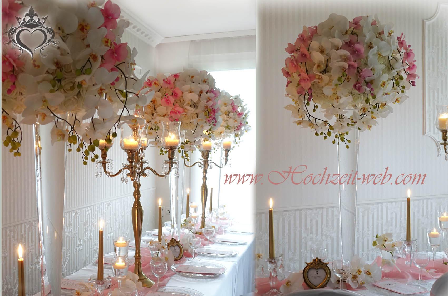 Elegante und extravagante vasen f r tischdekoration for Dekoartikel hochzeit