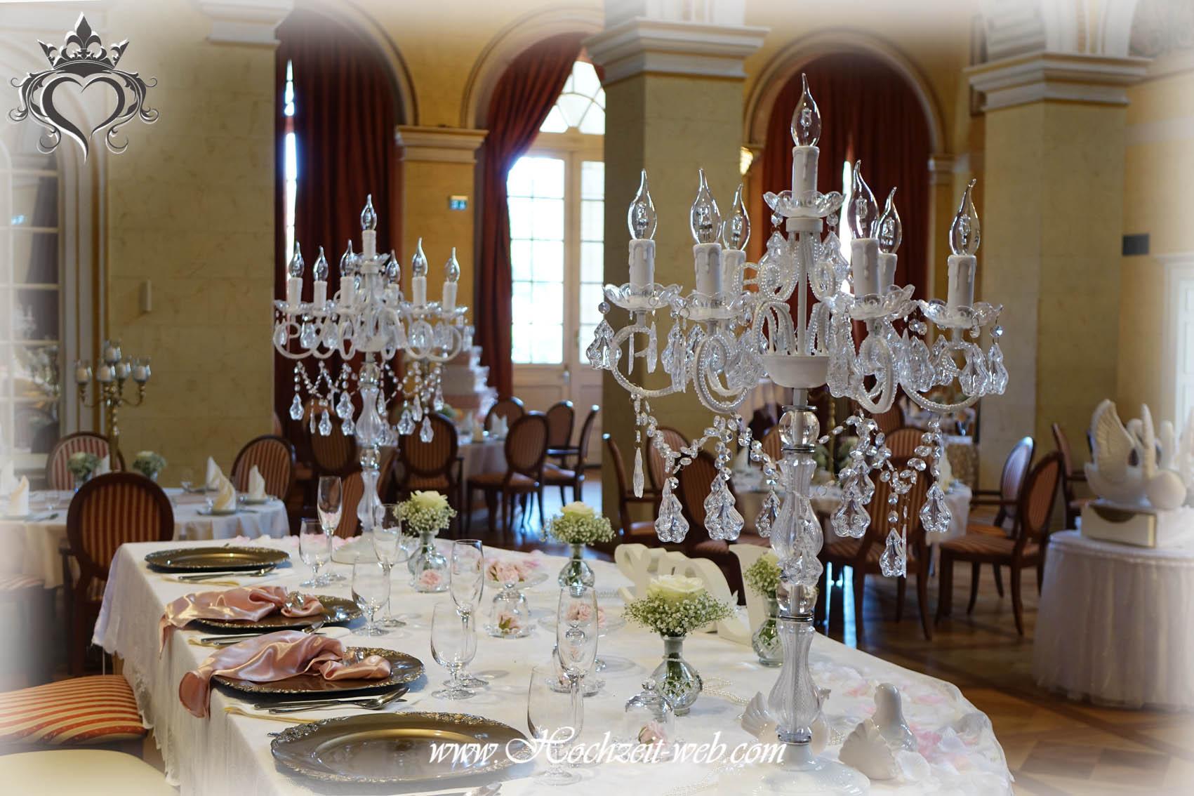 Brauttisch for Hochzeitsdekoration